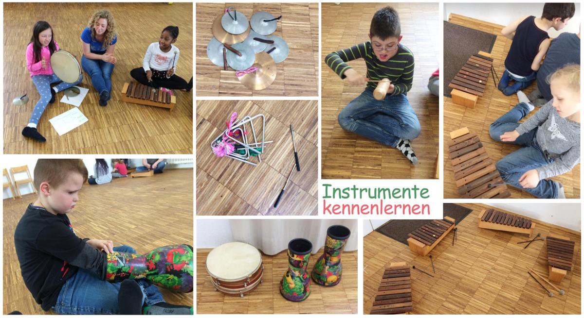 Instrumente kennenlernen